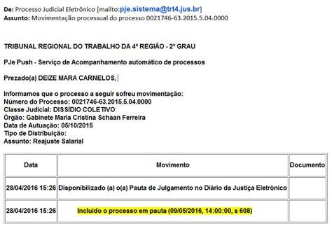 senalba rs dissidio 2016 marcado julgamento do diss 237 dio coletivo parcial da