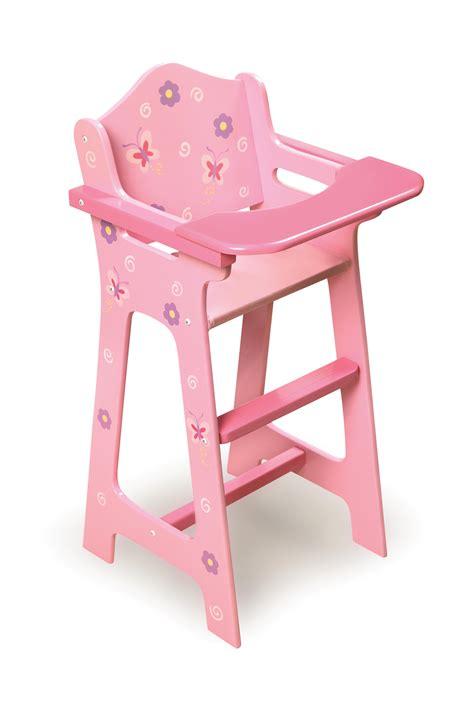 badger basket blossoms butterflies doll high chair by oj
