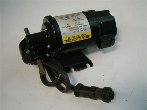 Jual Motor Dc Baldor baldor dc gear motor 04hp 12 1ratio 90vdc 54s gp231002 ebay