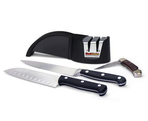 Kitchen Knives That Stay Sharp by Chef Schoice Diamond Hone Sharpener Model 478