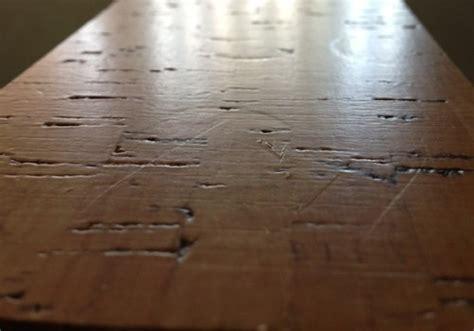 wecork brand cork floors denting all cork floors dent