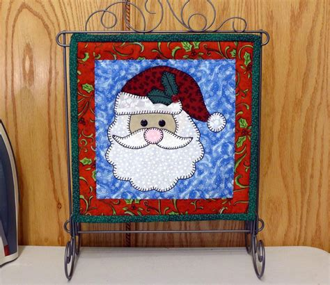 Santa Quilt Pattern by Santa 12 Quot Mini By Sher S Patterns Quilting Pattern