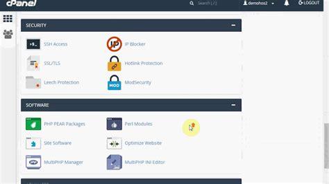 hosting cpanel  register youtube