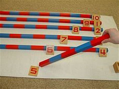 printable montessori rods 1000 images about math number rods on pinterest