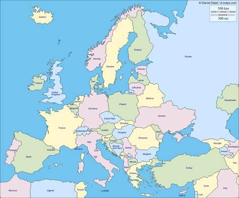 european colors mapas f 205 sicos pol 205 ticos y mudos de europa jugando y