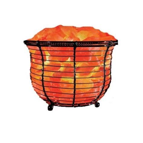 himalayan natural salt basket l natural solution himalayan salt tall basket l