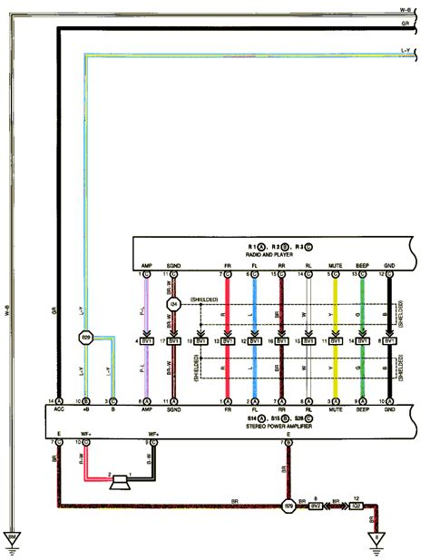 2000 lexus gs300 stereo wiring diagram wiring automotive
