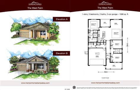 horizon homes sales sheet 3 brandmark advertising