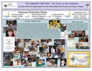 acs local sections 2011 chemluminary posters american chemical society