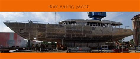 45 to meters boreno archive steel sailing yacht sale