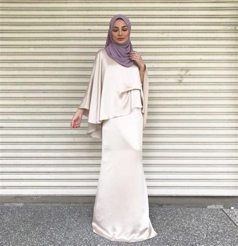 baju kurung dipakai artis 10 artis ilham baju raya media hiburan