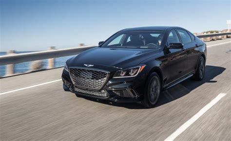 Size 2 Car Garage by Updated 2018 Genesis G80 Gets A Price News Car And