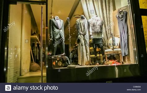 New Window Shopping From Ralph new york ny usa inside luxury clothing brands store at