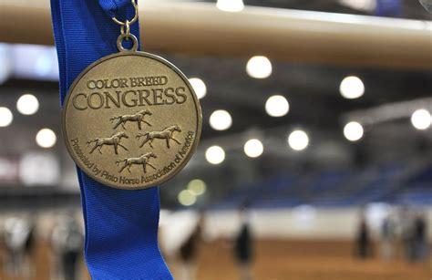 color breed congress color breed congress medallion ptha events