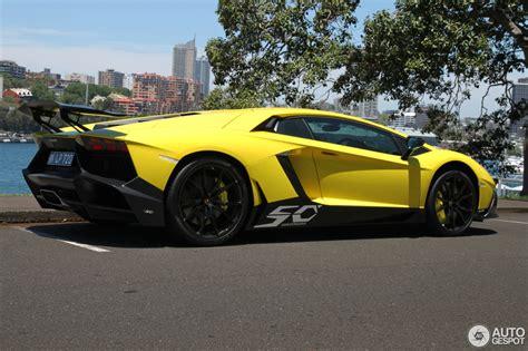 Lamborghini Aventador 50 Spotted Lamborghini Aventador 50 Anniversario