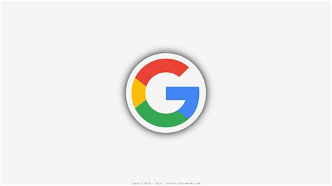 google logo wallpaper for mobile a minimalistic desktop wallpaper i made with the new logo