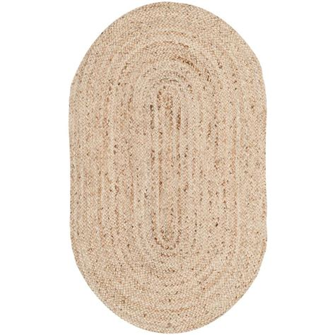 oval accent rugs safavieh cape cod natural 3 ft x 5 ft oval area rug