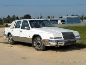 Chrysler Imperial 1992 1992 Chrysler Imperial Sedan Specifications Pictures Prices