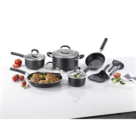 Promo Shinil 12 Pcs Cookware Set t fal 12 pc opticook nonstick titanium cookware set shop your way shopping earn