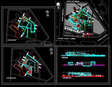 museum floor plan dwg مشاريع dwg مخططات متحف تاريخ historical museum dwg