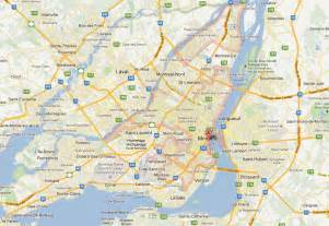 Montreal Canada Map by Montreal Map