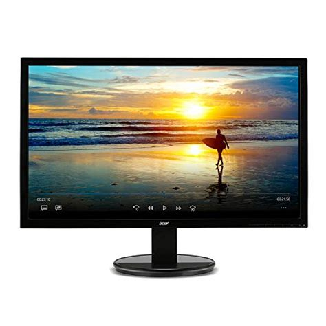 Monitor Acer K202hql 19 5 Inch acer k202hql bd 20 19 5 viewable 1600 x 900 monitor