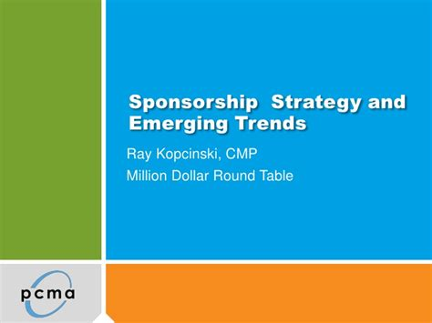 Strategy Mba Sponsorship sponsorship strategy and emerging trends
