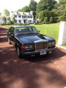 bentley mulsanne black interior 1988 bentley mulsanne s black leather interior