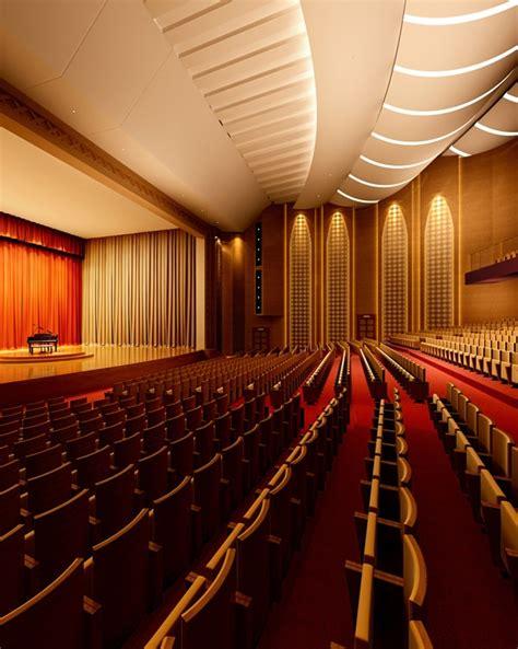 Interior Design Concert by Theater Interior Concert Opera Cinema 3d Model
