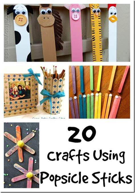 getting crafty with popsicle 20 popsicle sticks - Crafts Using Popsicle Sticks