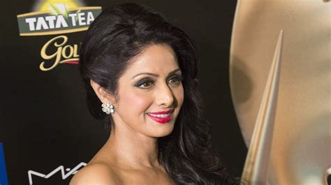 actress death pics sridevi s mortal will be placed in a truck decorated with