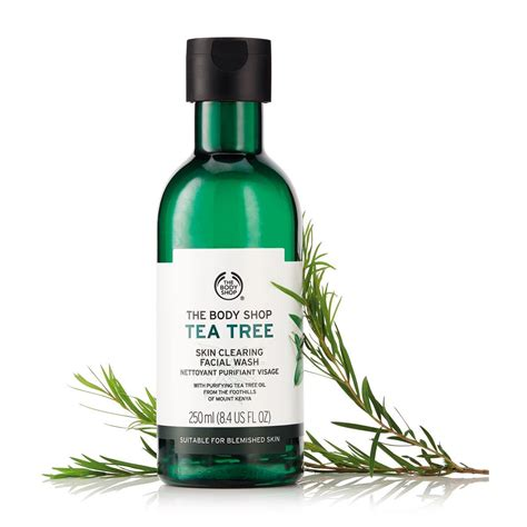 Tea Tree Gel The Shop the shop tea tree skin clearing