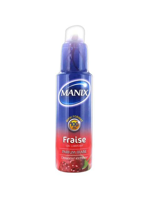 gel 100ml manix pulpy strawberry lubricant gel 100ml