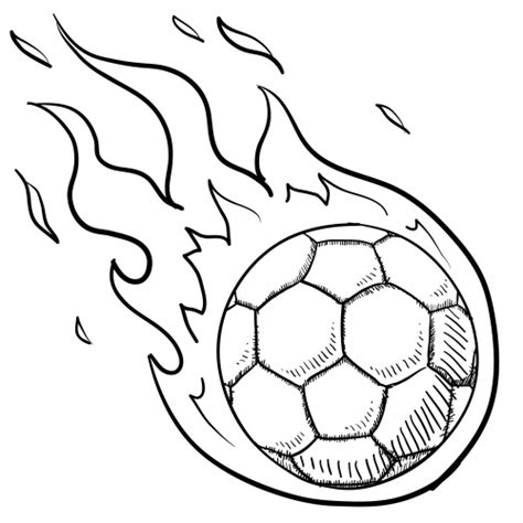 soccer ball in flames for kids kidspressmagazine com