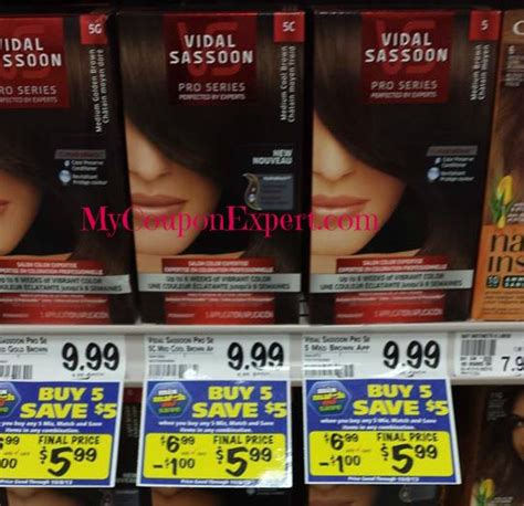 Shoo Vidal Sassoon vidal sassoon hair color coupon 28 images 2 vidal