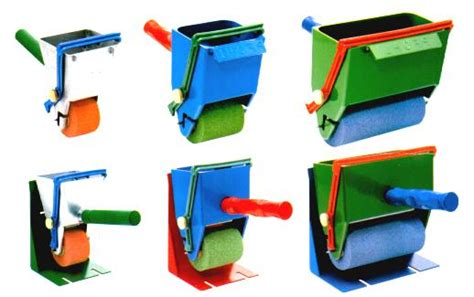 trough glue roller  surfaces