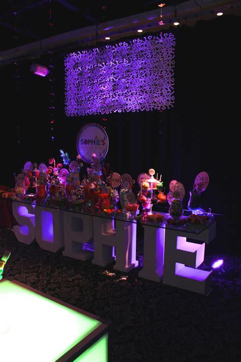 sweet themed event design modern candy theme sweet sixteen at vegas nj randolph