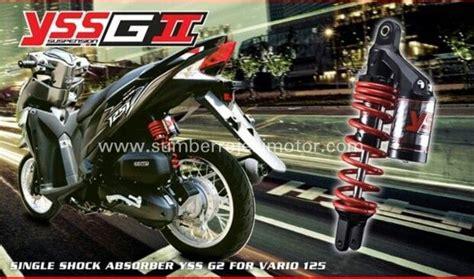 Shock Racing Beat Fi shock belakang yss g2 idr 770 000 aplikasi motor vario 125 vario 150 scoopy fi beat fi
