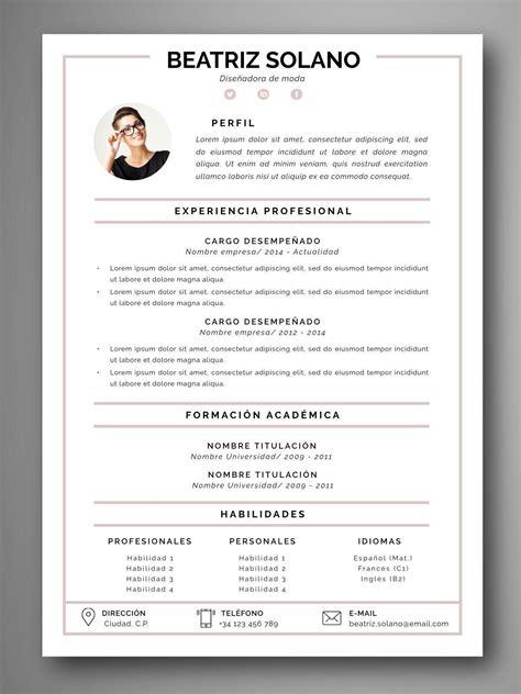 plantilla curriculum plantilla cv coimbra orientaci 243 n para el empleo