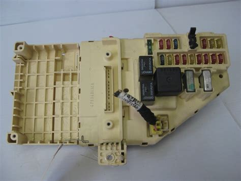 chrysler sebring  convertible lxi interior fuse box oem switches controls