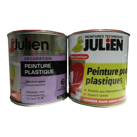 Peinture Pour by Peinture Plastique Julien 500ml Peinture Discount