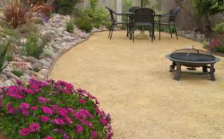 decomposed granite landscaping dg decomposed granite mediterranean landscape san