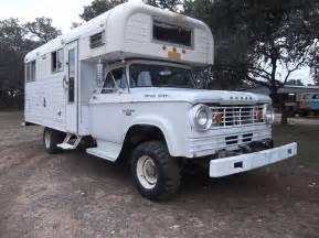 Dodge W300 1966 Dodge Power Wagon W300 Chinook Rv