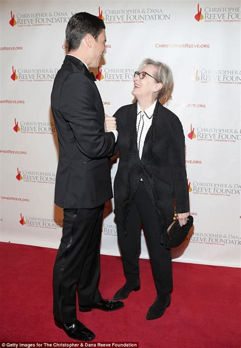 christopher reeve height in feet meryl streep is dwarfed by christopher reeve s son and