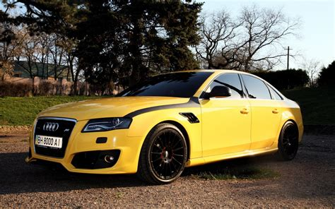 yellow abt audi a4 wallpapers 1440x900 629065