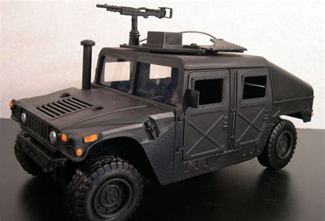 black military jeep pte black humvee a gijoehq exclusive