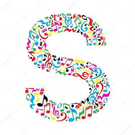 note musicali in lettere lettre de notes de musique image vectorielle inspiring