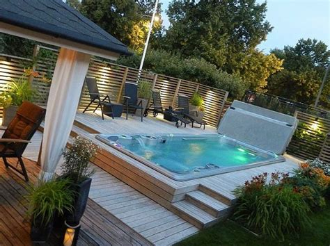 Backyard Pools Spas Best 25 Outdoor Spa Ideas On