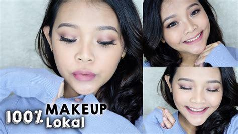 Makeup Makeover Indonesia 100 makeup pakai produk lokal indonesia wardah sariayu emina makeover ririeprams