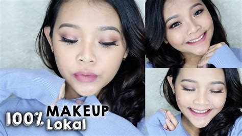 Eyeshadow Emina Vs Wardah 100 makeup pakai produk lokal indonesia wardah sariayu emina makeover ririeprams